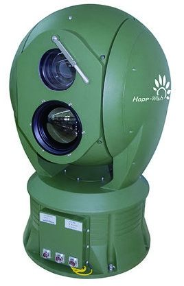 Auto Tracking Long Range Surveillance Camera , Multi Spectrum PTZ  Long Distance Camera