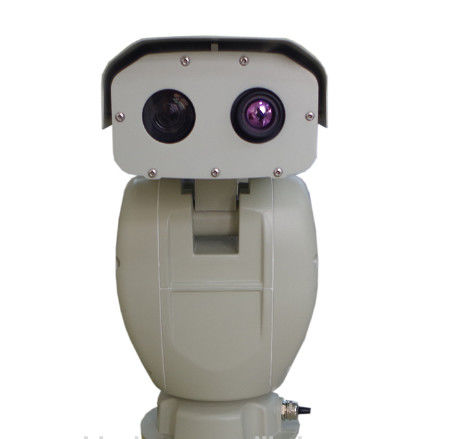 Thermal Imaging IR Temperature Detect Long Distance Night Vision Camera , PTZ Security Camera