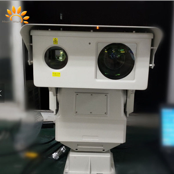 Outdoor Waterproof Long Range Infrared Camera With 360° Continuously Rotation Pt