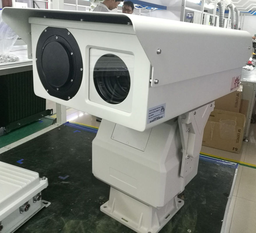 Cctv 30x Zoom Dual Thermal Camera Infrared Ip66 With 640 * 512 Resolution