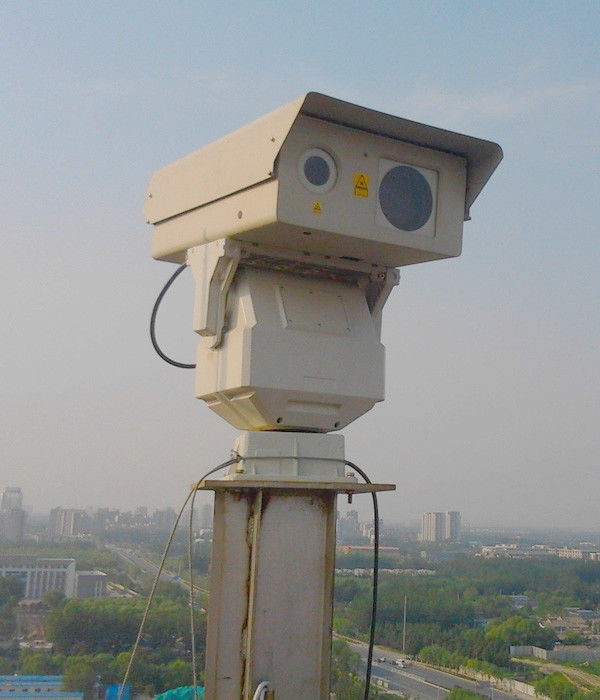 3 Km Long Range Infrared Camera Ptz With Optical Zoom , 1080p Thermal Camera